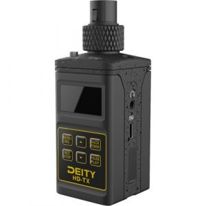 Deity Microphones HD-TX Plug-On Transmitter with Built-In Recorder (2.4 GHz)