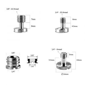 SmallRig Assorted Screw and Thread Adapter Pack